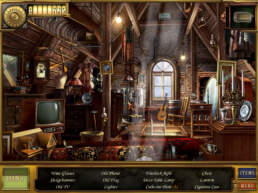 hidden objects game