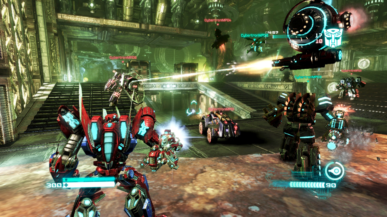 review transformers fall of cybertron sony playstation 3