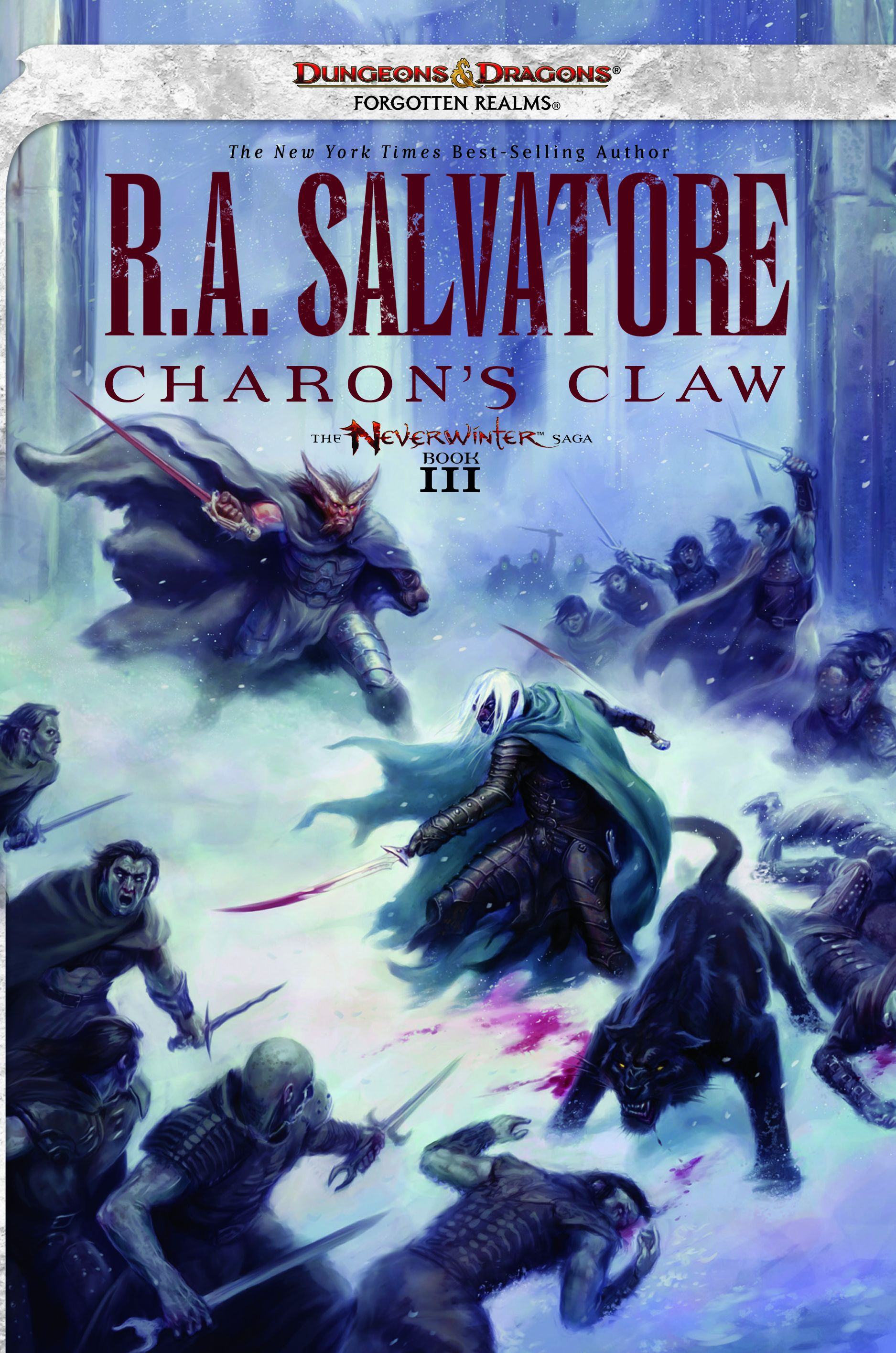 R A Salvatores Charons Claw Cover Art
