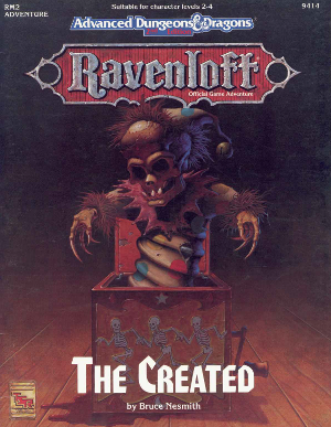 Tabletop Review: Ravenloft: The Created (Advanced Dungeons