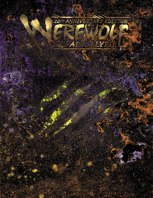 Tabletop Review: Werewolf: The Apocalypse 20th Anniversary