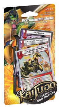 Kaijudo ++ Galzak of Shadow Pass Shadow Champion// Armored Dragon FOIL Set of 3