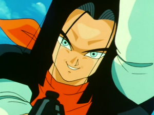 Android 17 from Dragon Ball Z