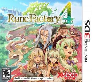 Rune Factory 4 Cover
