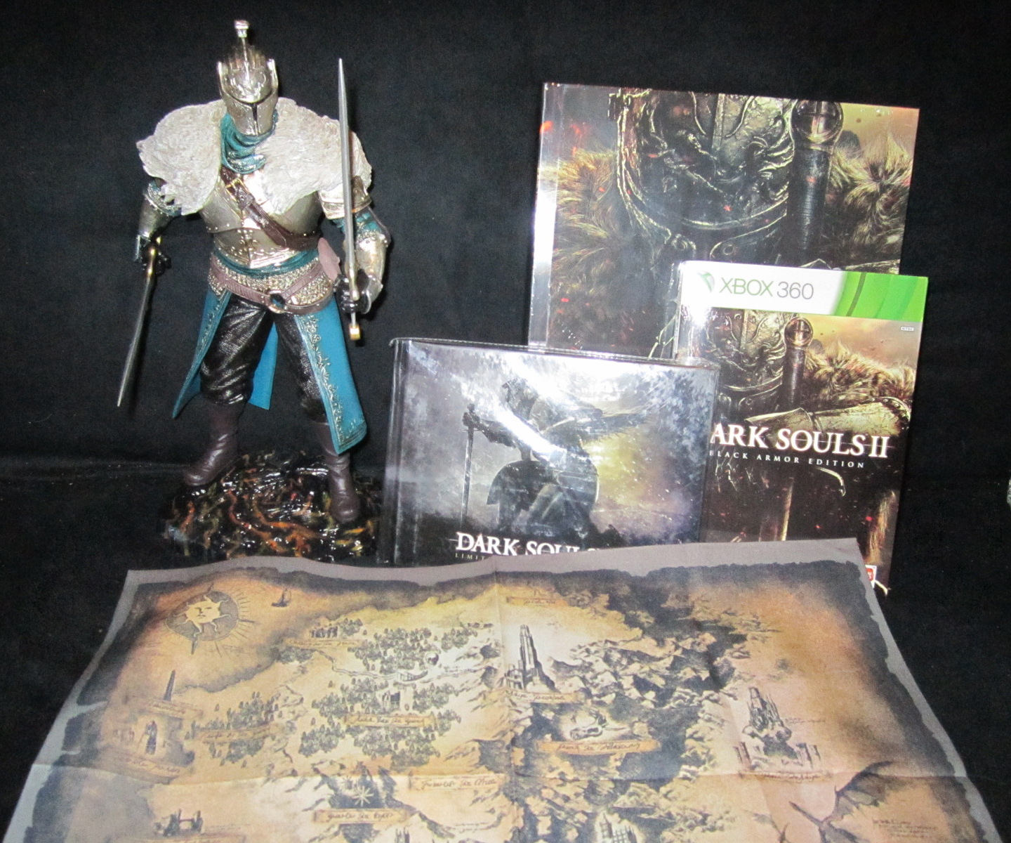 Unboxing the Dark Souls II Collector's Edition and Collector's ... on