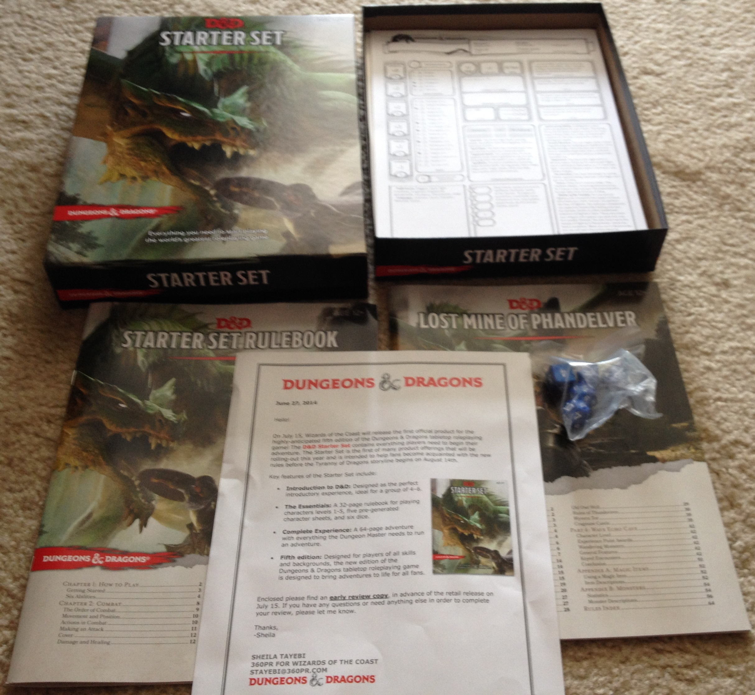 Unboxing The D D Starter Set Dungeons Dragons Fifth Edition D D