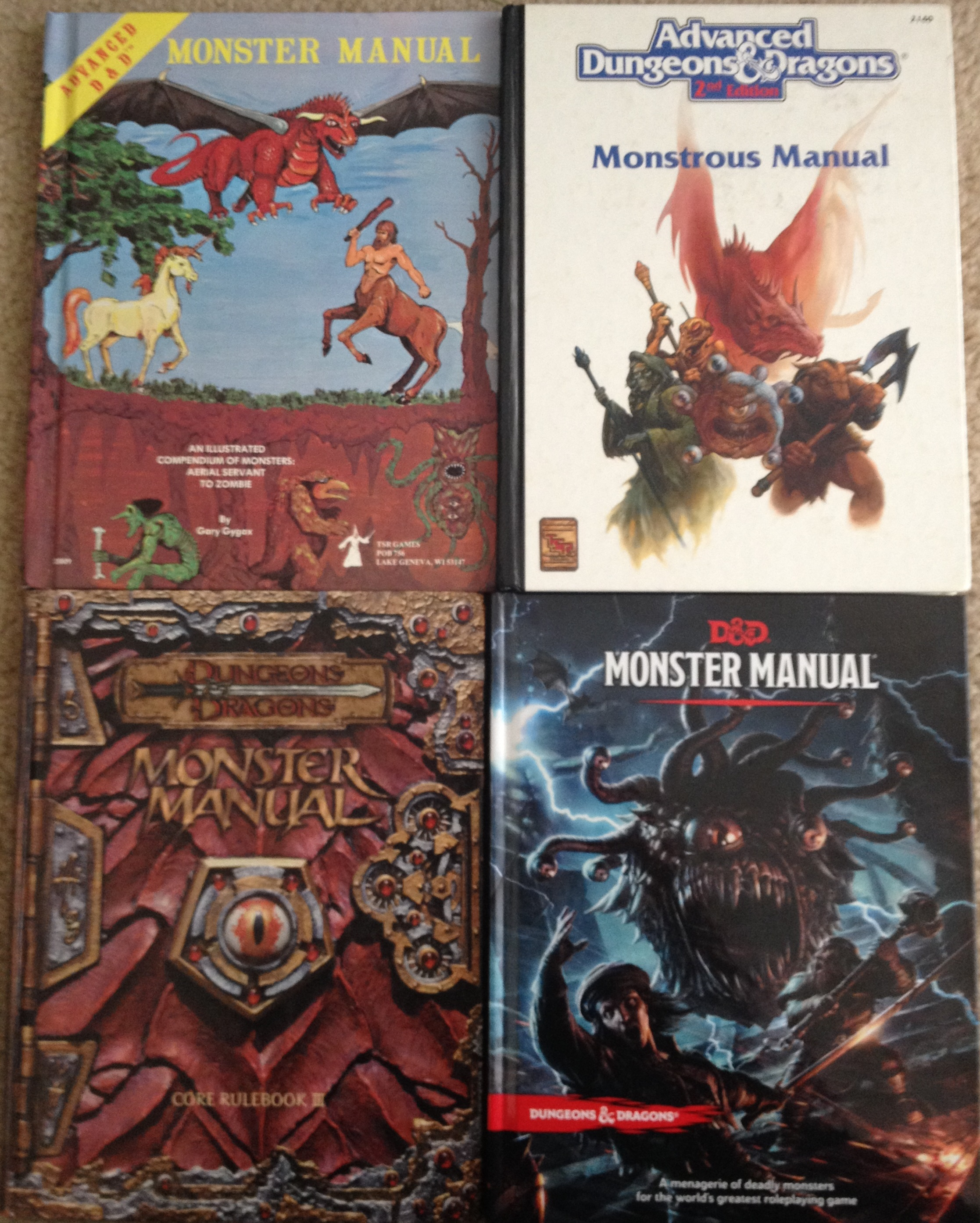 With the release of the Dungeons & Dragons, Fifth Edition Monster Manual, I  thought it might be fun to do a look back at all five editions of the  venerable ...