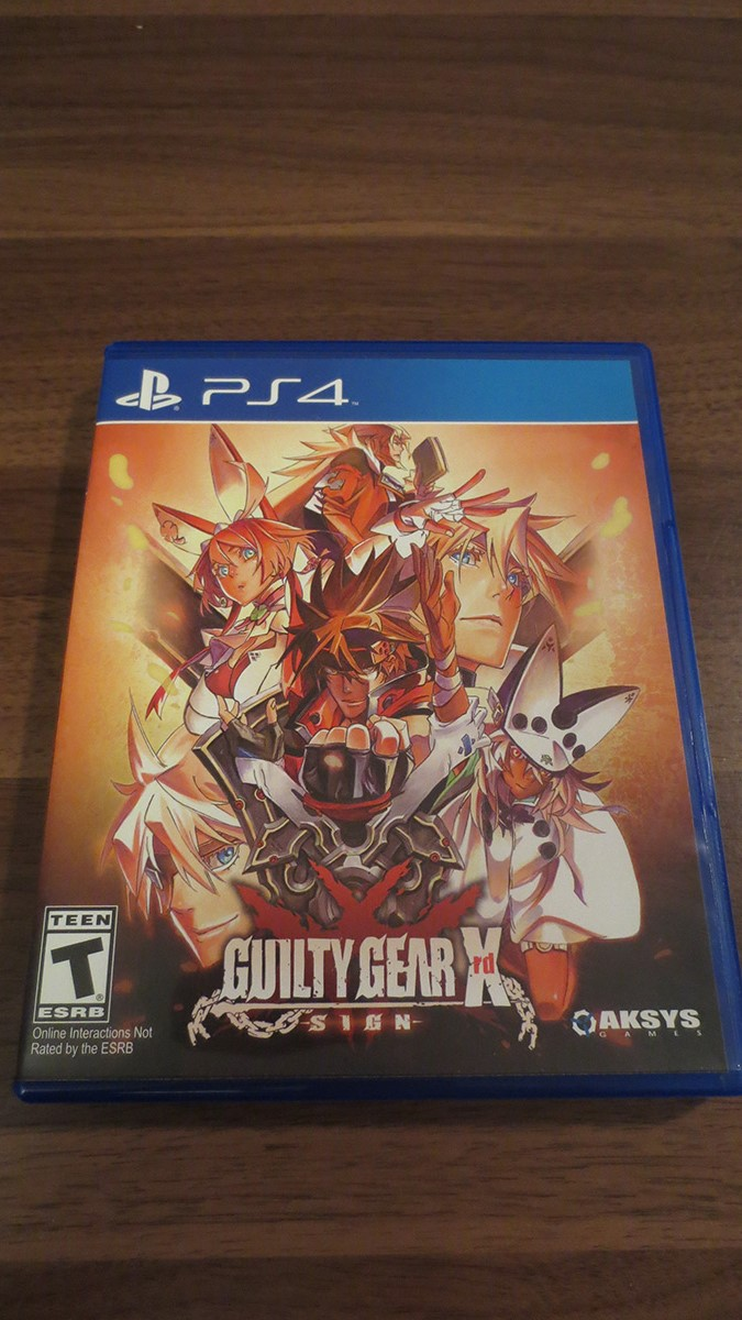 Guilty Gear Xrd PS4