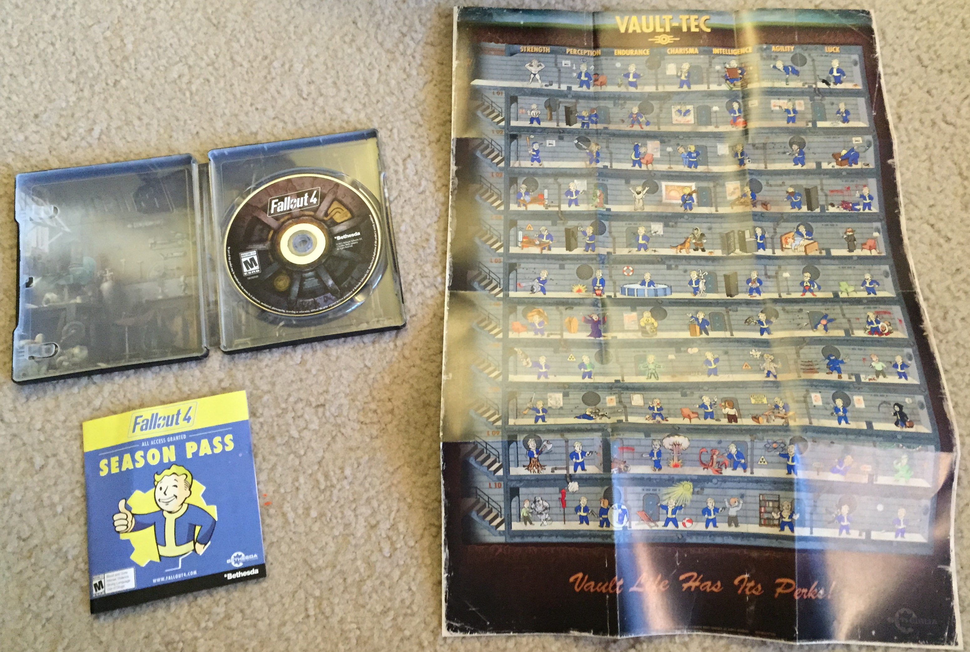 unboxing fallout 4 pip boy edition and vault dweller s survival rh diehardgamefan com pc game manual downloads pc game manuals