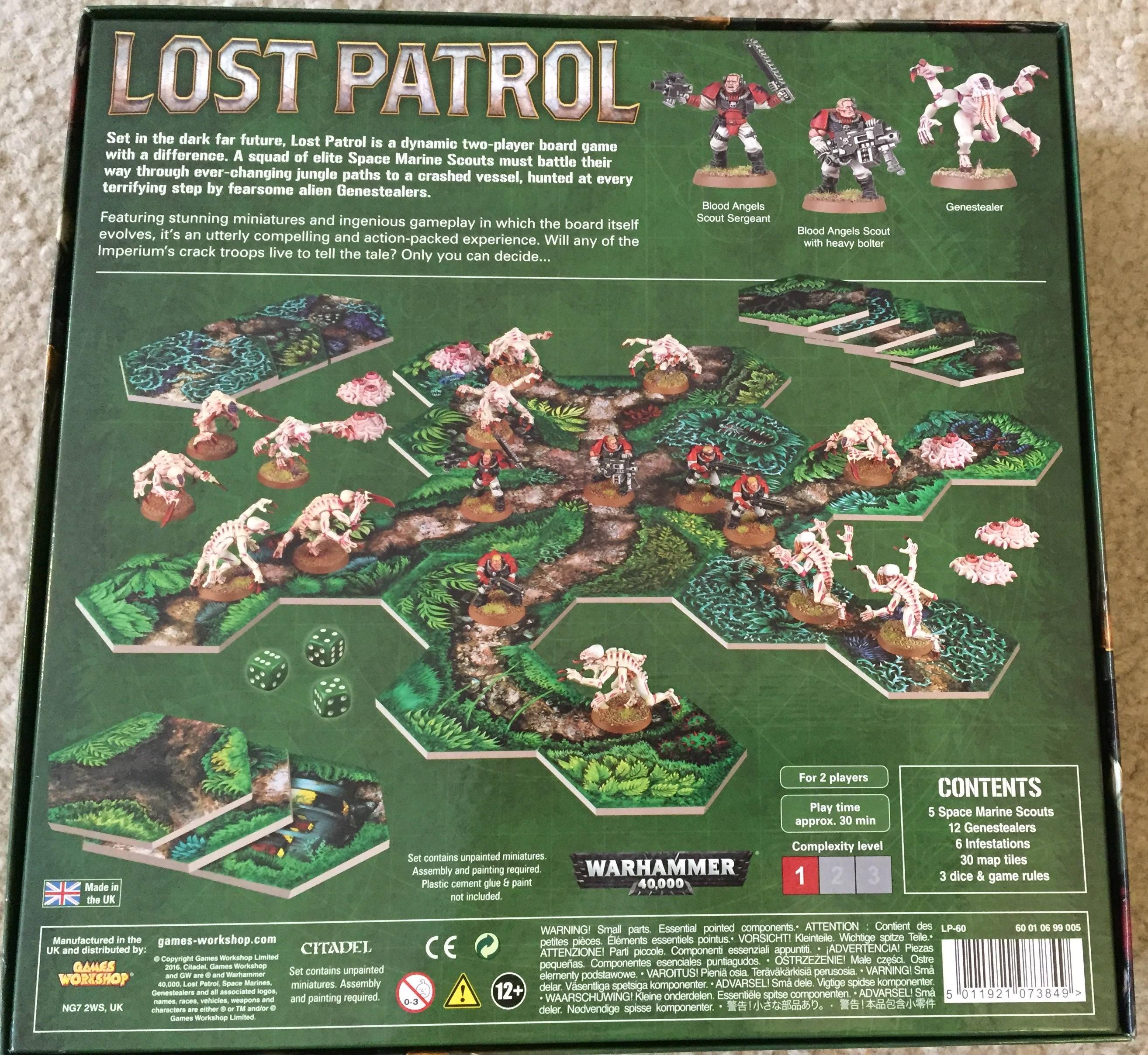 Unboxing: Lost Patrol – Death in the Jungle (Warhammer ...